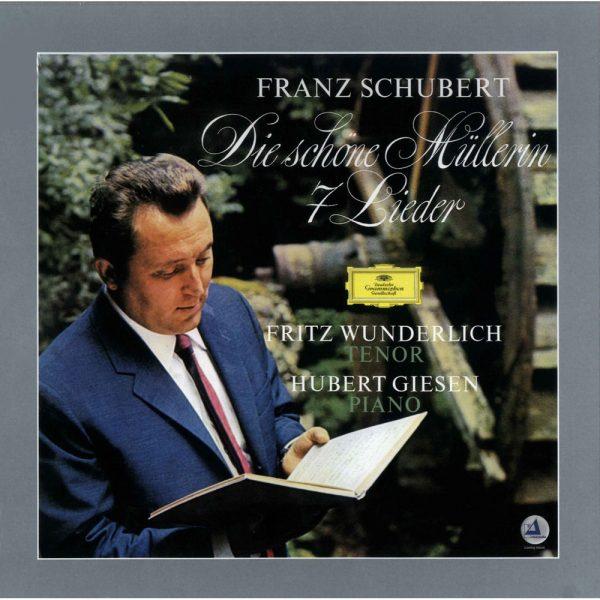 """Am image of Fritz Wunderlich, Hubert Giesen - Franz Schubert: Die Schöne Müllerin """"7 Lieder"""" (180g 2LP) 1"""
