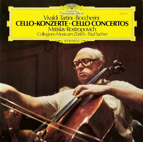 Am image of Mstislav Rostropovich - Vivaldi, Tartini, Boccherini: Cello Concertos (180g LP) 1