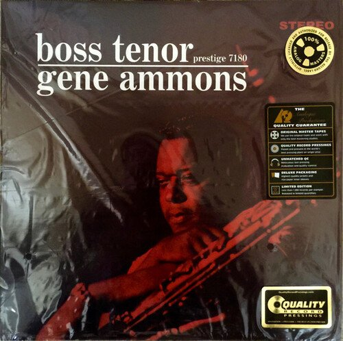 Am image of Gene Ammons - Boss Tenor (200g LP) 1