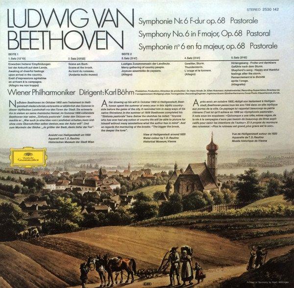 """Am image of Karl Böhm - Beethoven : Symphony No.6 in F Major, Op.68 """"Pastorale"""" (180g LP) 2"""