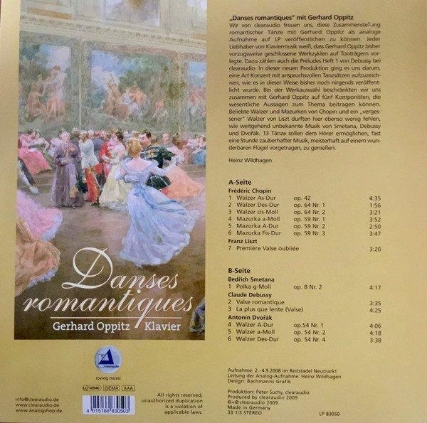 Am image of Gerhard Oppitz - Danses Romantiques (180g LP) 2