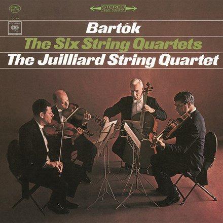 Am image of Juilliard String Quartet - Bartok: The Six String Quartets No. 1-6 (180g 3LP Box Set) 1