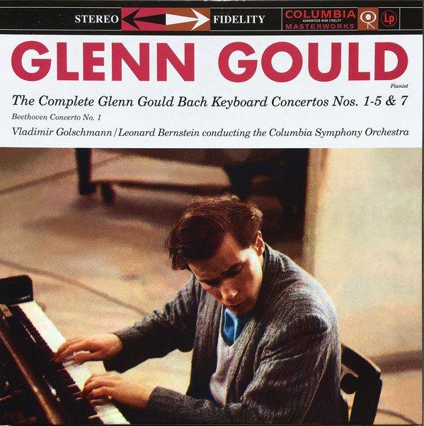 Am image of Glenn Gould - The Complete Glenn Gould Bach Keyboard Concertos No. 1-5 & 7 (180g 3LP Box Set) 1