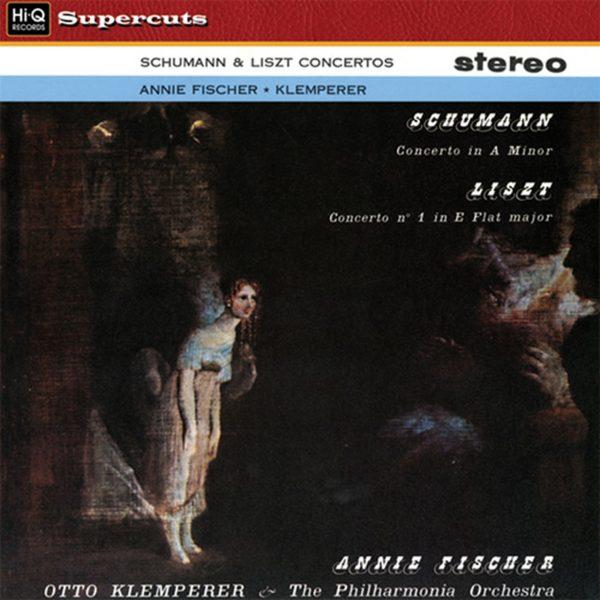 Am image of Annie Fischer - Schumann: Concerto In A Minor & Liszt: Concerto No. 1 In E Flat Major (180g LP) 1