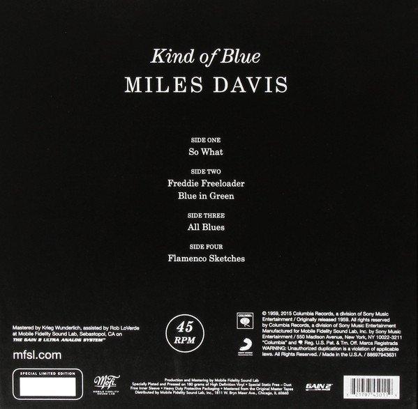 Am image of Miles Davis - Kind of Blue (180g 45rpm 2LP) 2