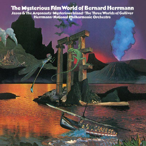 Am image of Bernard Herrmann - The Mysterious World of Bernard Herrmann (45rpm 180g 2LP) 1