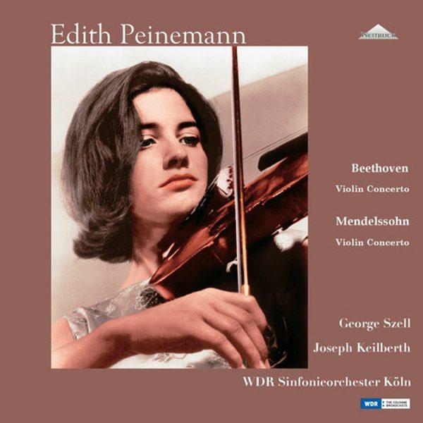 Am image of Edith Peinemann - Beethoven & Mendelssohn Violin Concertos (180g 2LP Mono) 1