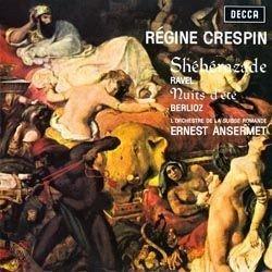 "Am image of Ravel: Sheherazade / Berlioz: ""Les Nuits d'Eté"" / Ernest Ansermet & Regine Crespin (180g LP) 1"