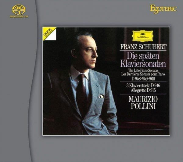 Am image of Maurizio Pollini - Schubert Piano Sonatas Nos. 20 & 21 (Hybrid Stereo SACD) 1