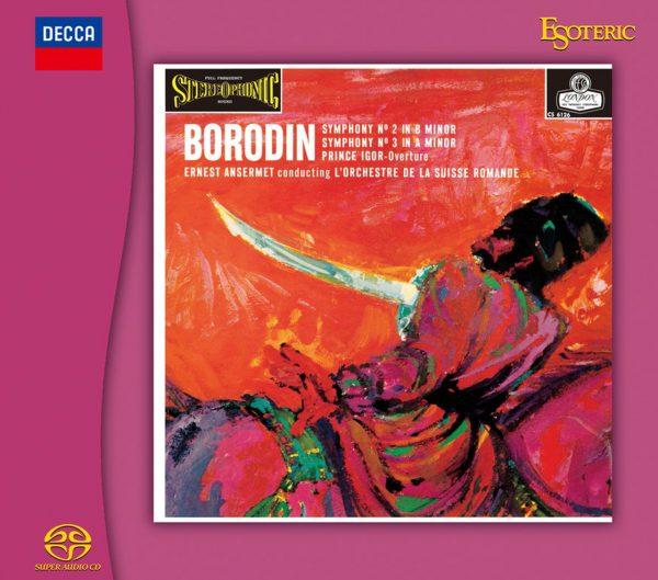 Am image of Ernest Ansermet - Borodin Symphony No. 2 (Hybrid Stereo SACD) 1